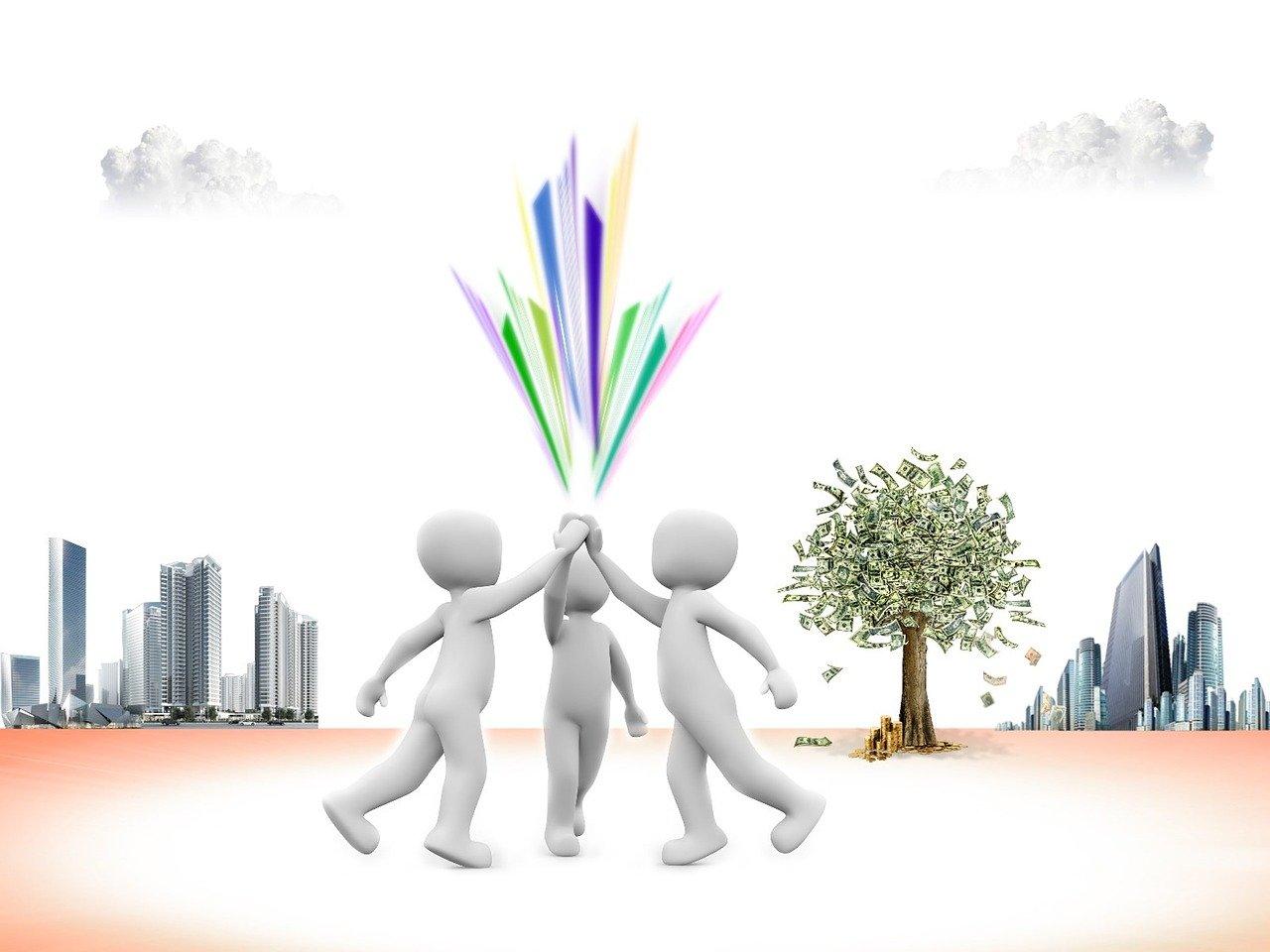 meeting, group of people, set